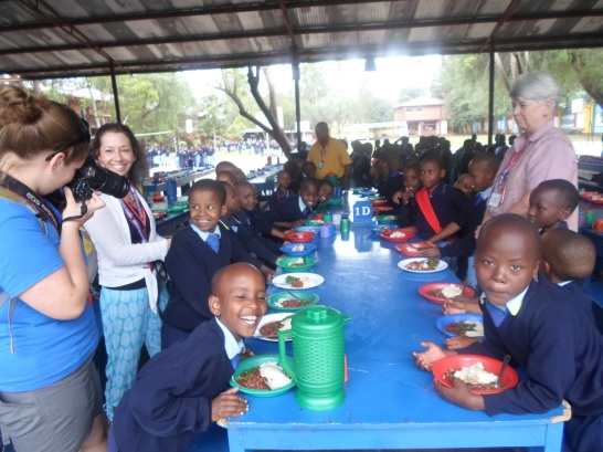 Lunch with the children of St. Jude